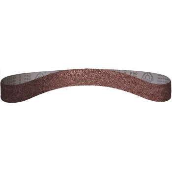 Abrasive belt  Klingspor 13x455 mm grit 80 for power belt file