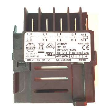 Contactor 230V for machines Kity