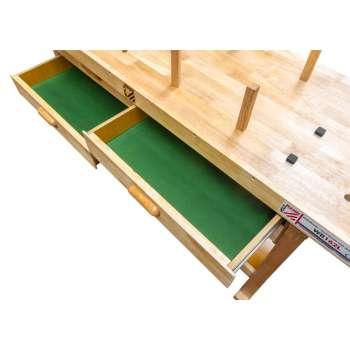 Wooden workbench WB162L...