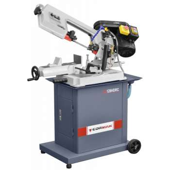 Hydraulic metal band saw with coolant Cormak BS128HDRC