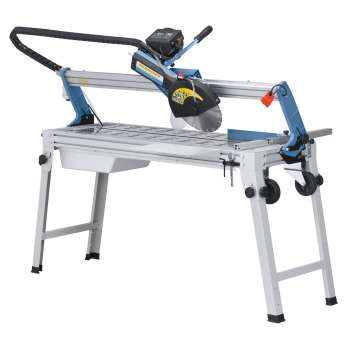 Electric tile cutter on...