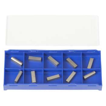 Cut-off inserts for 12 mm shank turning tools for C9 / D7 (pack of 10)