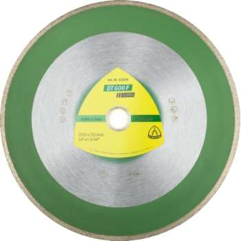 Diamond disc continuous rim...