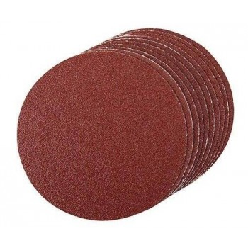 Hook & Loop Abrasive disc 125 mm grit 80, set of 10