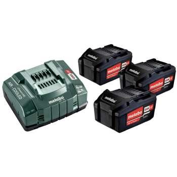 Chargeur + 3 batteries...