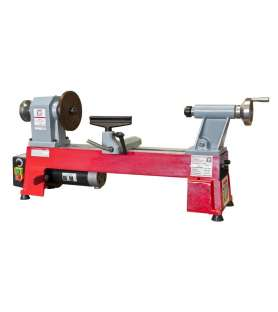 Wood lathe with copier...
