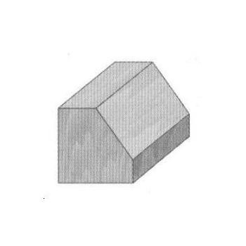 Fraise à chanfreiner sans guide Q8 MM - DIA 27 X LU 9 angle 45°