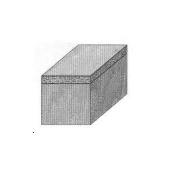 Fraise a affleurer+guide Q8 MM - DIA 12.7 X  LU 25