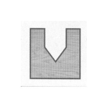 V-Grooving router bit - Shank 8 mm