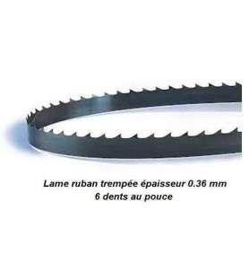 Lame de scie à ruban 1875 mm largeur 10 épaisseur 0.36 mm