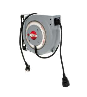 Wall-mounted electric hose...