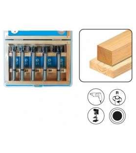 Box Leman 5 drill bits dia....