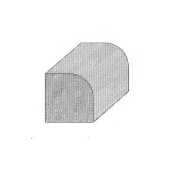 Roundover router bit radius 16 mm - Shank 8 mm