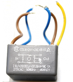 Capacitor for Kity PT8500...
