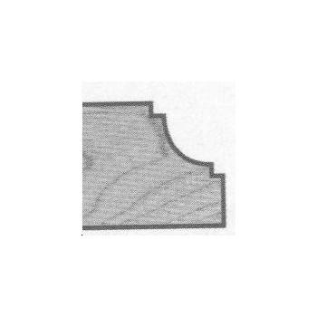 Fraise moulures deco+guide Q6 mm - Ø 25.4 -  rayon 4.8