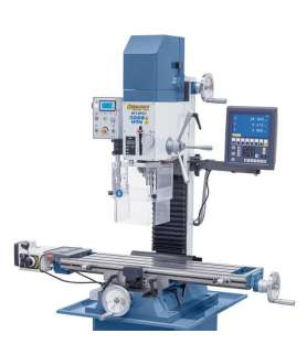 Metal drilling machine with...
