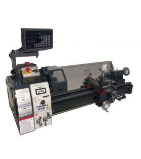 Metal lathe with 2-axis...