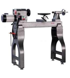 Tour à bois avec variateur électronique Holzprofi MC1624VS