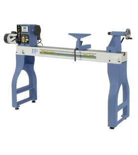 Wood lathe with speed...