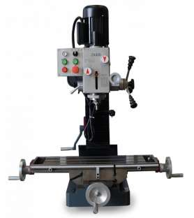 Drilling machine tapping...
