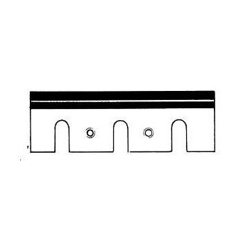 Ferri réaffûtables acciaio 92x29x3.0 mm per piano Ryobi e Towa
