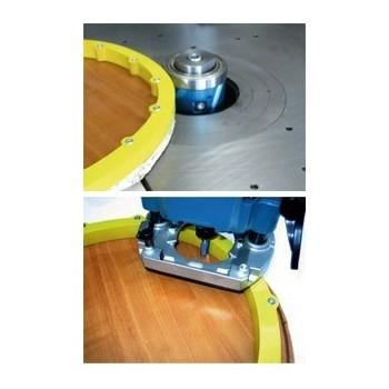 Schablone multicourbe für die chantournage dem kreisel oder mit der oberfräse