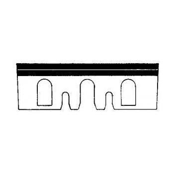 Eisen, stahl, nachschleifbar 92x30x3.0 mm für hobel Hitachi F30A