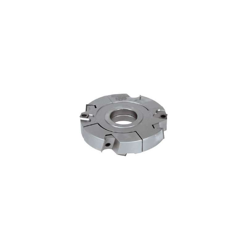Grooving cutter adjustable 20 to 40 mm with TC reversibles blades