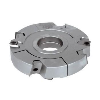 Porte-outils extensible à tenonner de 30 à 60 mm Ø 160 mm pour toupie arbre de 50 mm