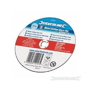 Metal Cutting Discs Flat 10pk