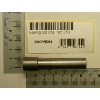 Axe pour poulie d'embrayage du Bestcombi 260 et 5.0, dégauchisseuse Kity 1637 et 1647