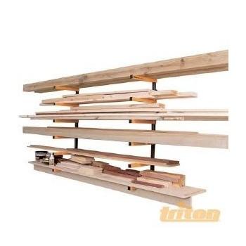 Sistema di archiviazione di legno o tubo Triton WRA001