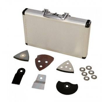 Accesorios para la herramienta multifuncional en un caso de un joven de 17 piezas