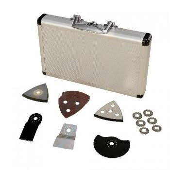 Accessoires pour l'outil multifonction en malette de 17 pièces