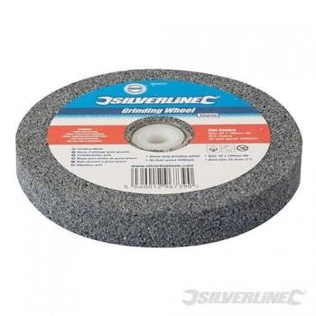 Schleifstein grau für doppelschleifer 150 mm durchmesser - feinkörnig