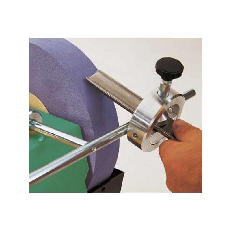 Dispositivo di affilatura Scheppach V55 per sgorbia e scalpello utensili di tornitura