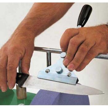 Dispositivo Scheppach V120 para el afilado de cuchillos grandes