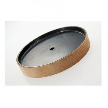 Leather honing disc Ø 200 mm Scheppach for wet stone sharpener