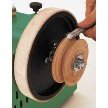 El rectificado de ruedas perfiladas 100 Scheppach
