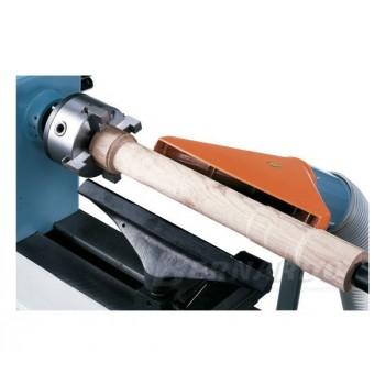 Soporte de aspiración regulable y orientable para torno de madera