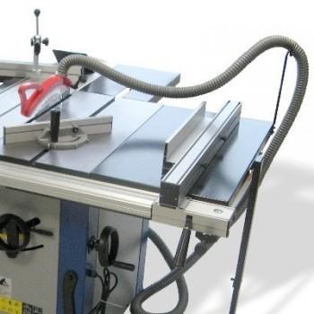 Scie à format Jean l\'ébéniste SAF1600i avec chariot alu ras de lame 1600 mm - 230V