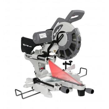 Scie à onglet radiale à double inclinaison Ø 305 et laser Holzprofi SRO305