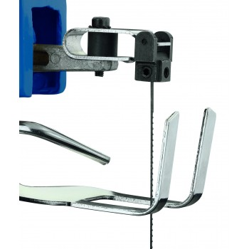 Sierra de desplazamiento Kity Scheppach Decoflex con 103 herramientas