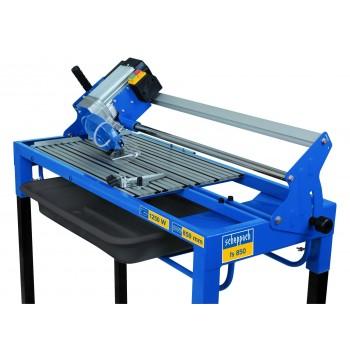 Azulejo en cortador de azulejos eléctrico de mesa Scheppach FS850