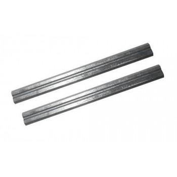 Fers pour rabot électroportatif 82 x 5.5 x 1.1 mm (lot de 2)