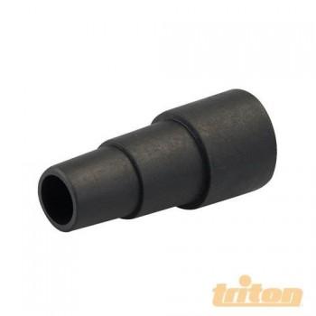 Getriebe von 35 mm bis 26 mm für den anschluss eines staubsaugers, späne