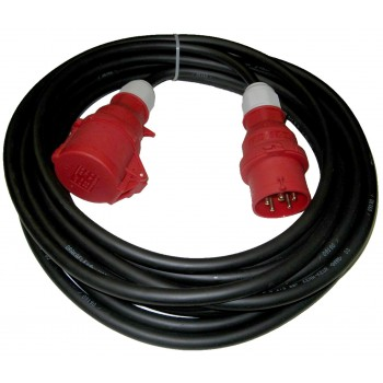 Extension cord three-phase 2.5 mm2 10 meters special woodworking machines
