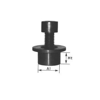 Sleeve + screw shaft end thread M16 shaft 50