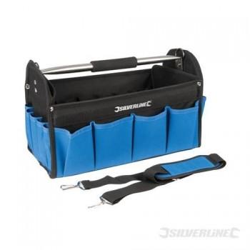Strapazierfähige Werkzeugtasche mit verstärktem Boden