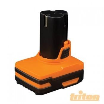 Batteria ad alta capacità 3.0 Ah per trapano Triton serie T12